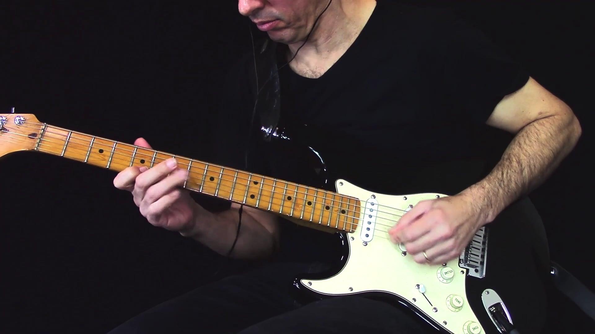 Intenção menor melódica no blues