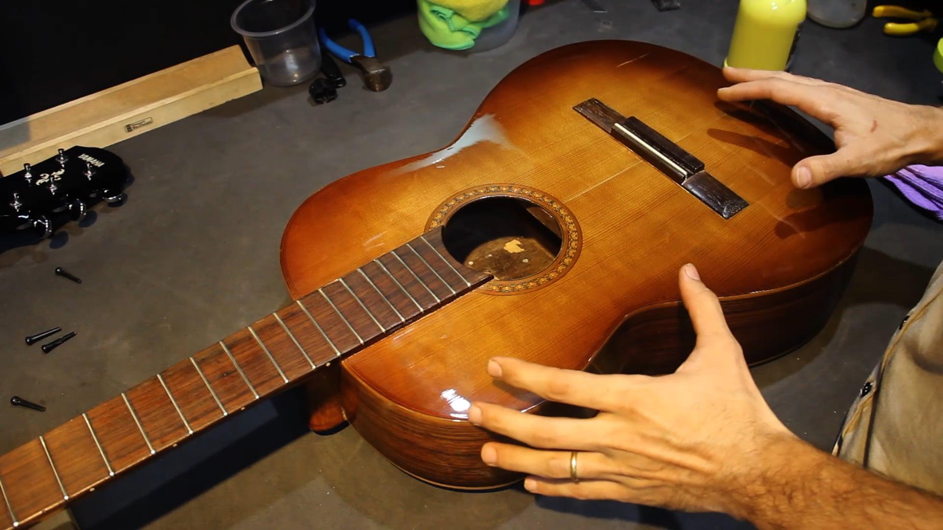 Limpeza e Troca de Cordas para Instrumentos Acústicos - Parte 2
