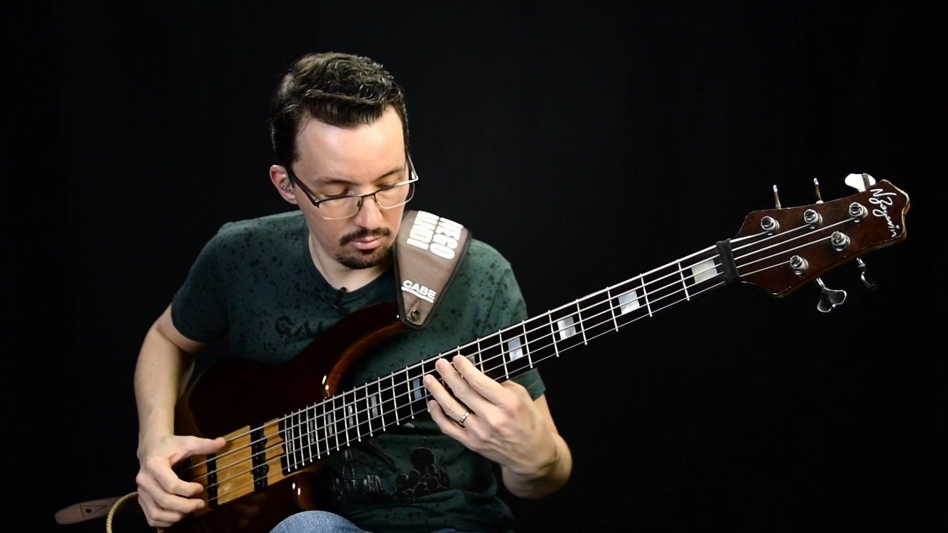 Chords Groove - Exercício em Intervalos de 10ª