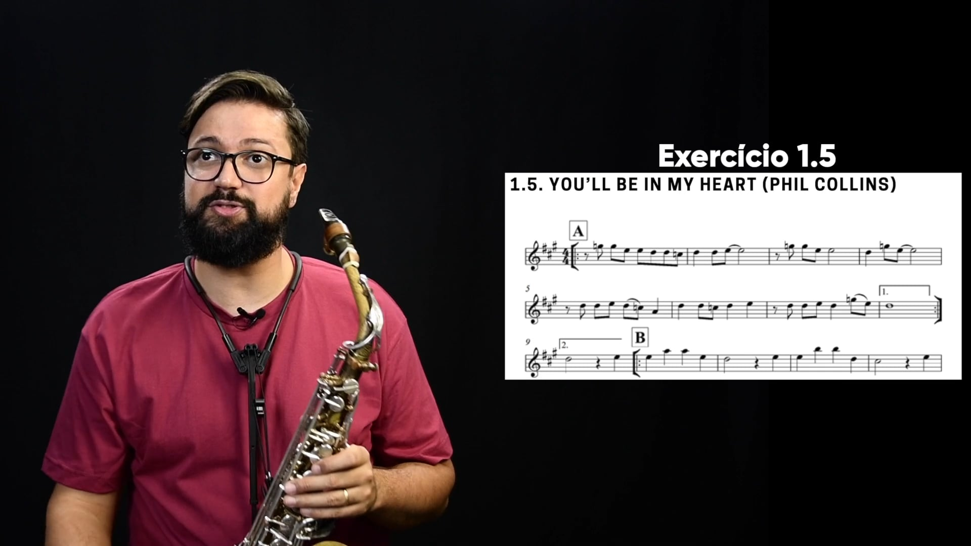 Repertório - You`ll be in my heart