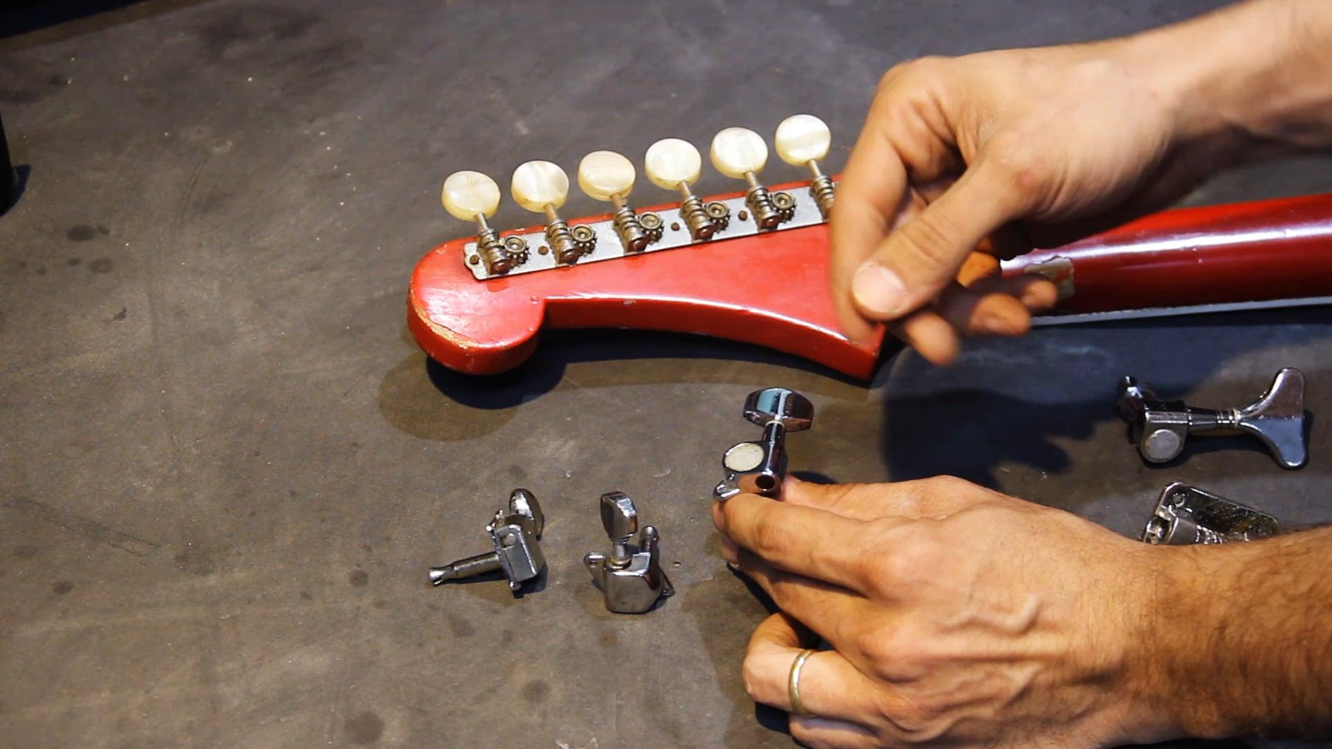 Instrumentos Elétricos de Corpo Sólido - Parte 2 - Tarraxas e Ponte