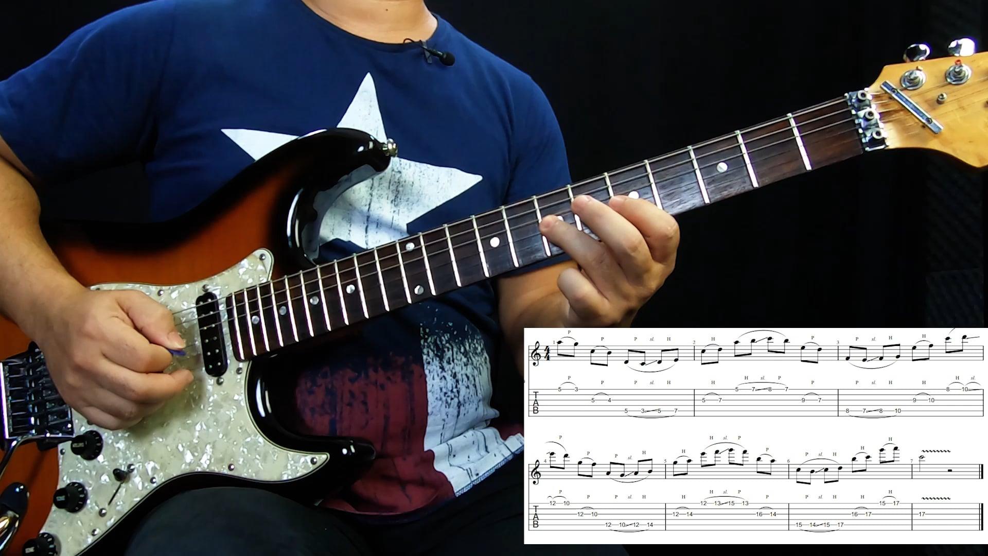 Conectando Shapes - Escala Maior 2 Notas por corda