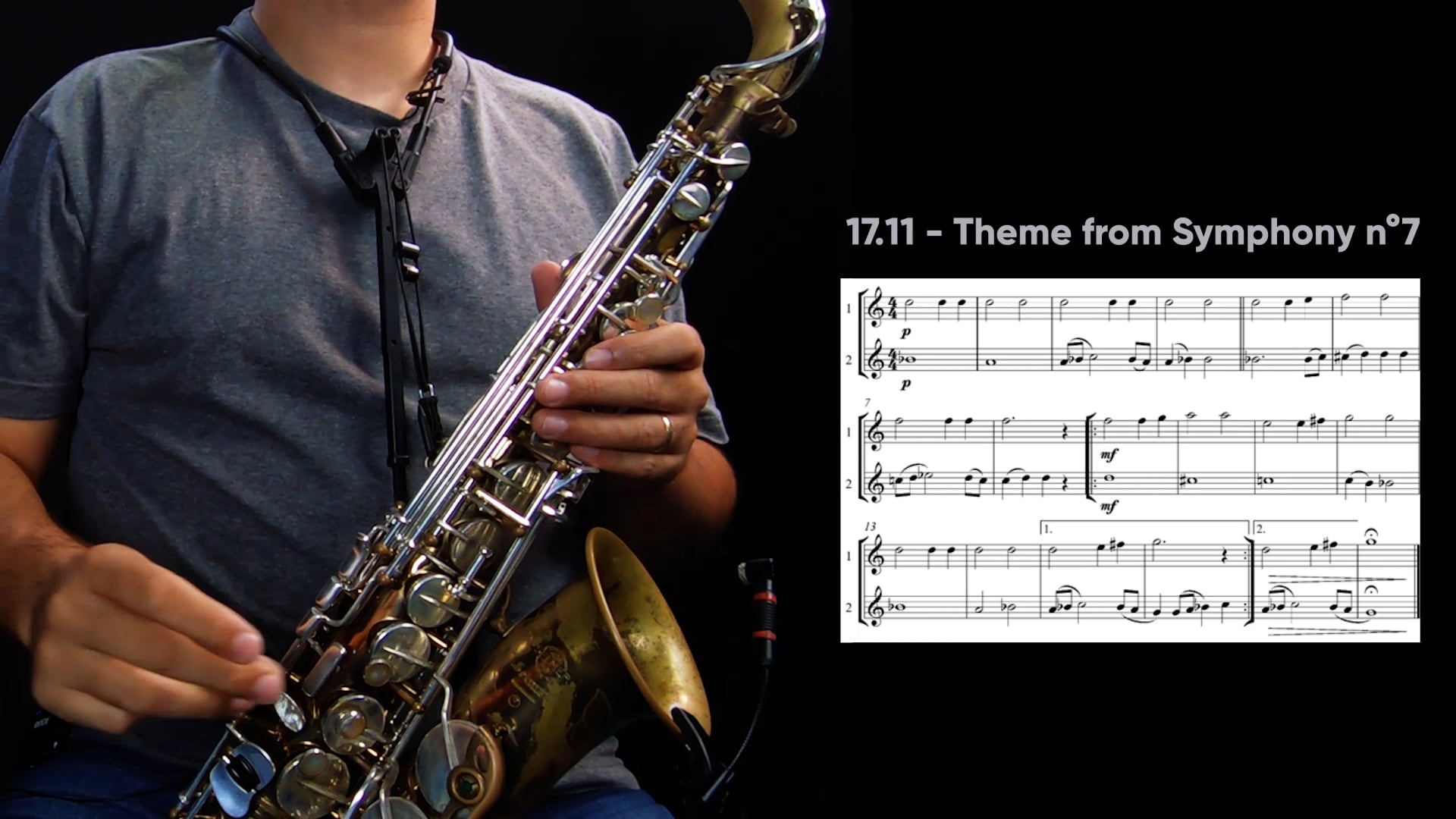 Repertório - Theme From Symphony nº7