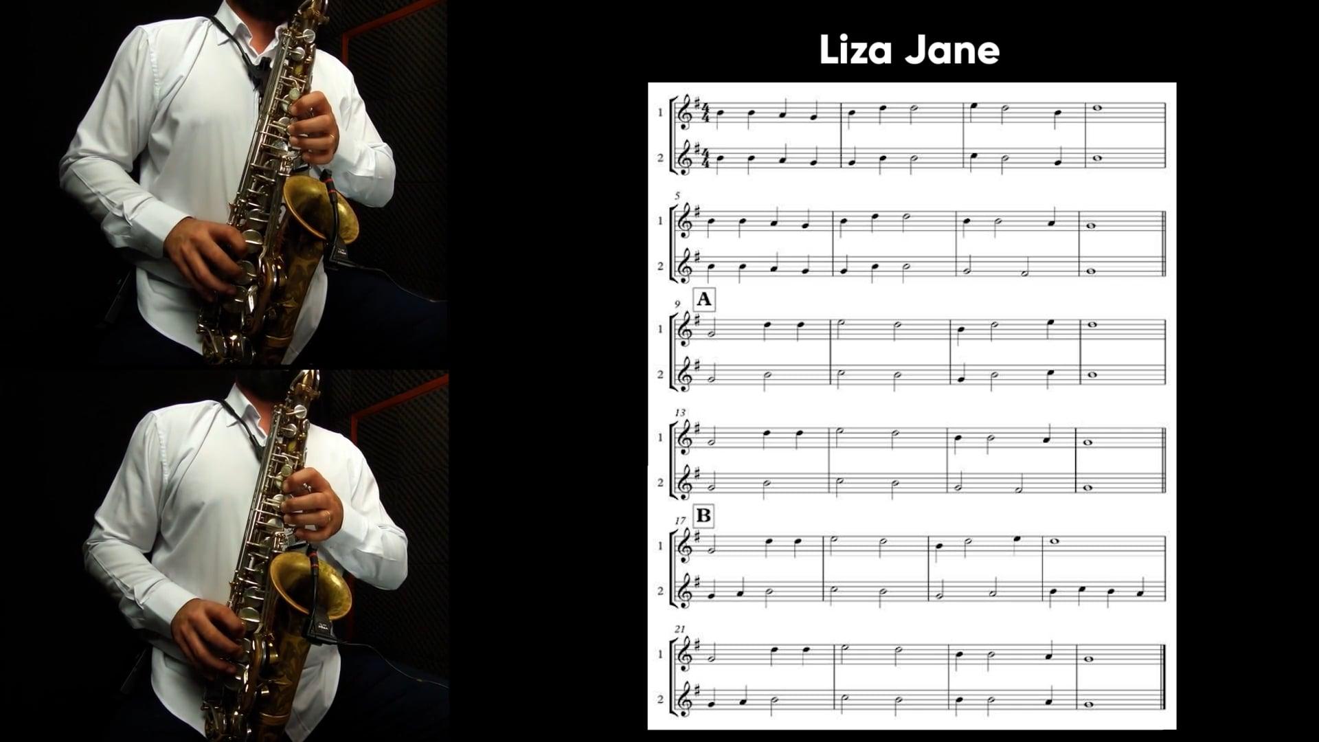 Repertório - Liza Jane