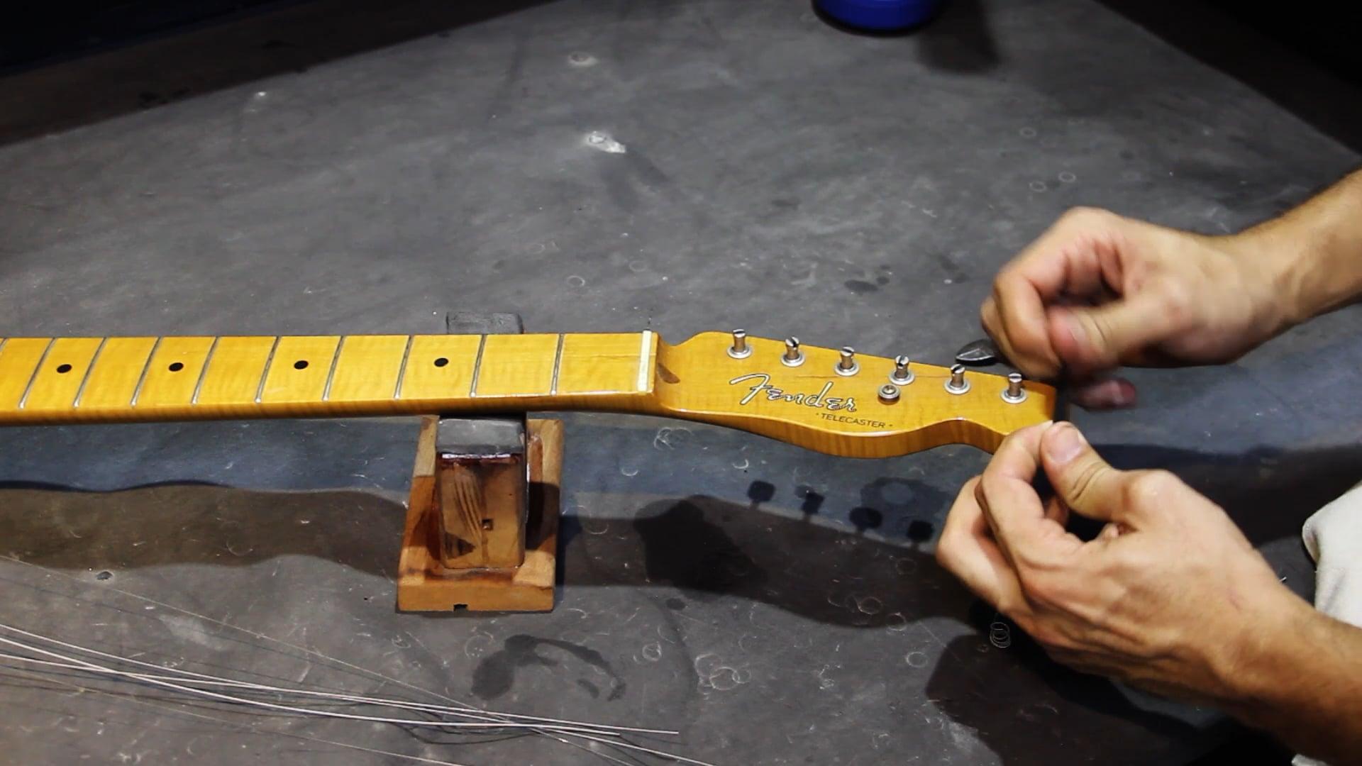 Manutenção para Guitarra Telecaster - Desmontagem e Limpeza do Braço