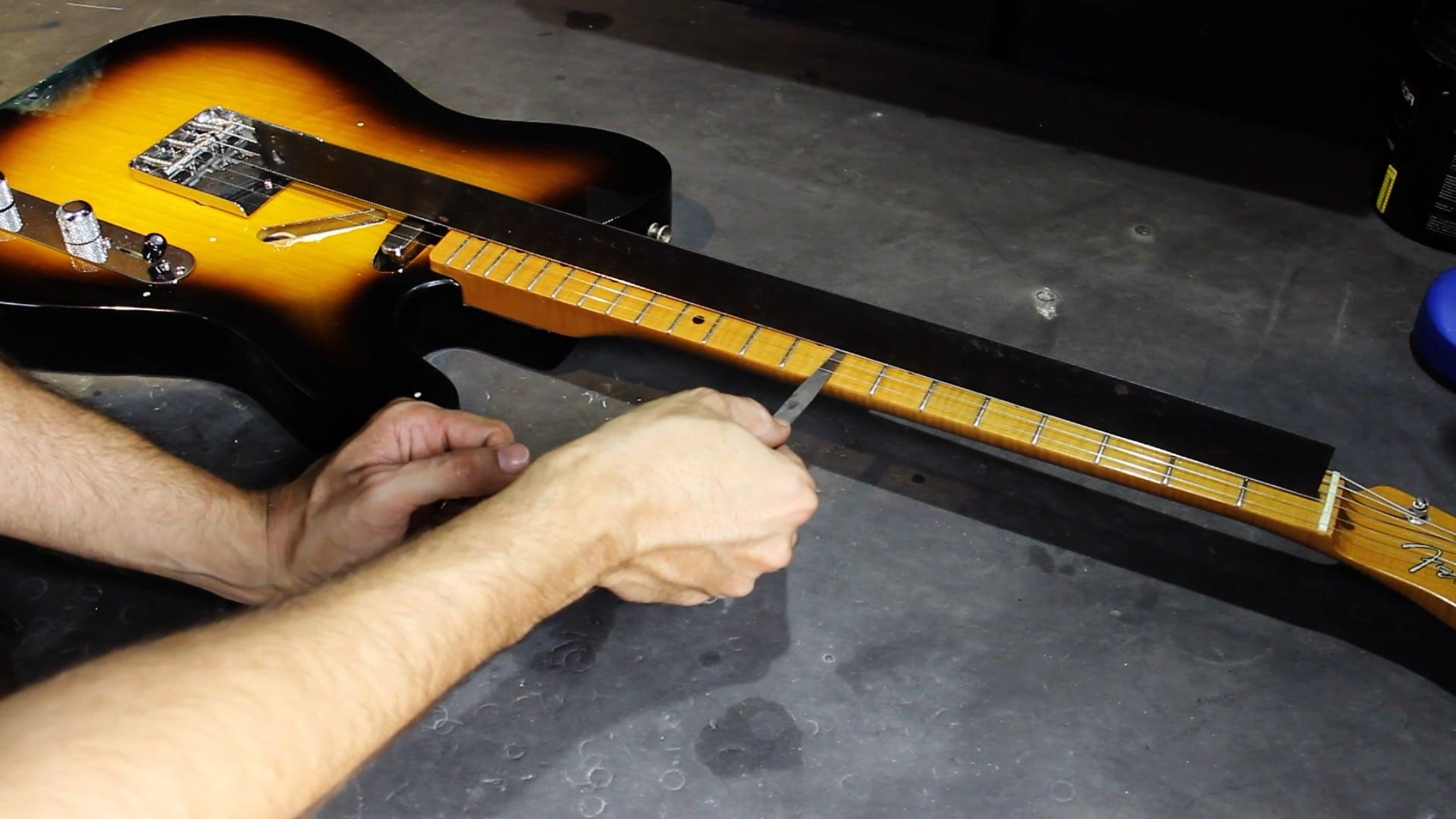 Manutenção para Guitarra Telecaster - Regulagem - Parte 1