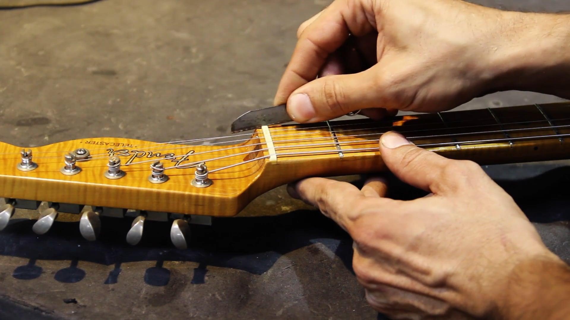 Manutenção para Guitarra Telecaster - Regulagem - Parte 2