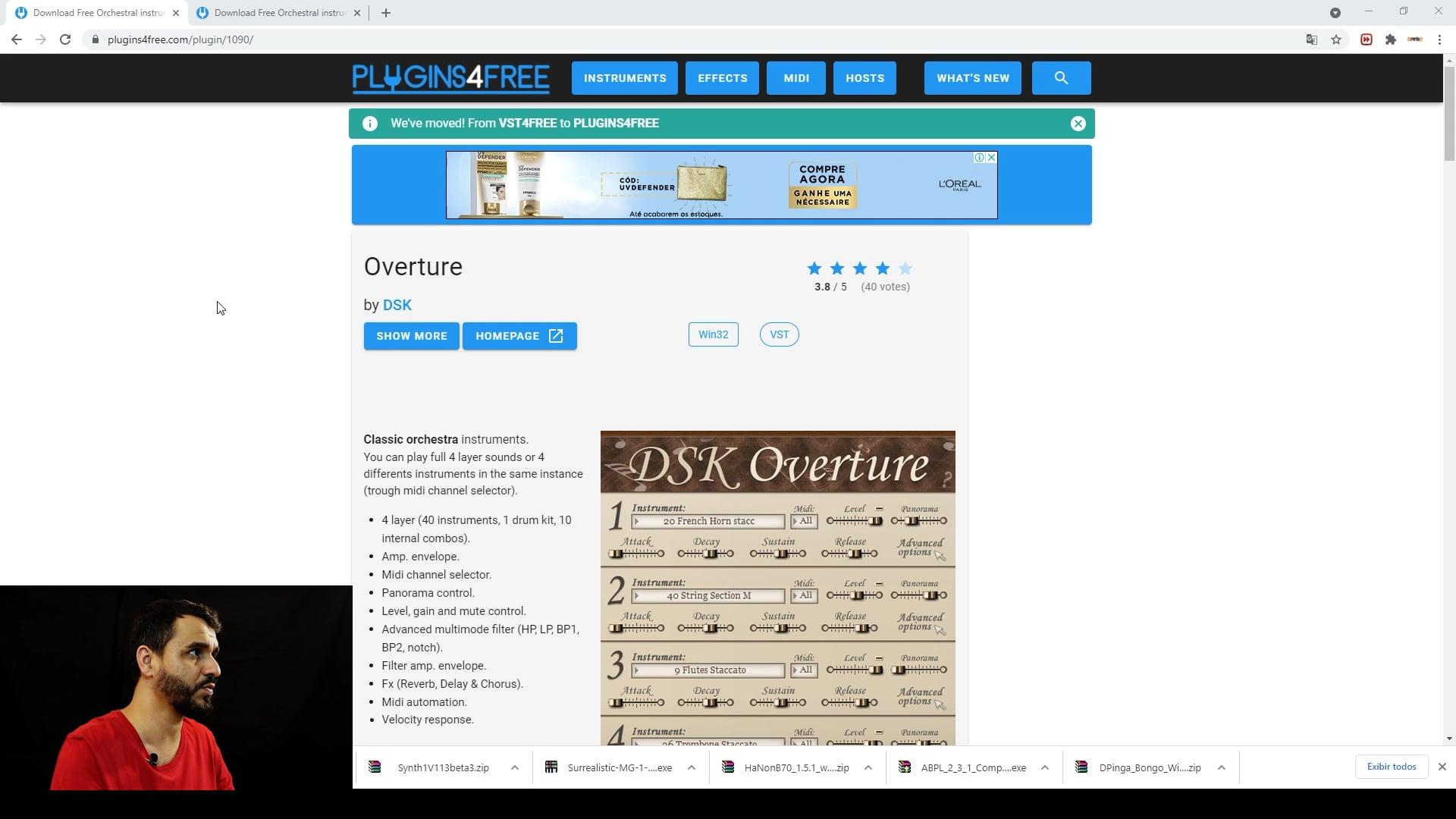 Instalando Orquestra Virtual