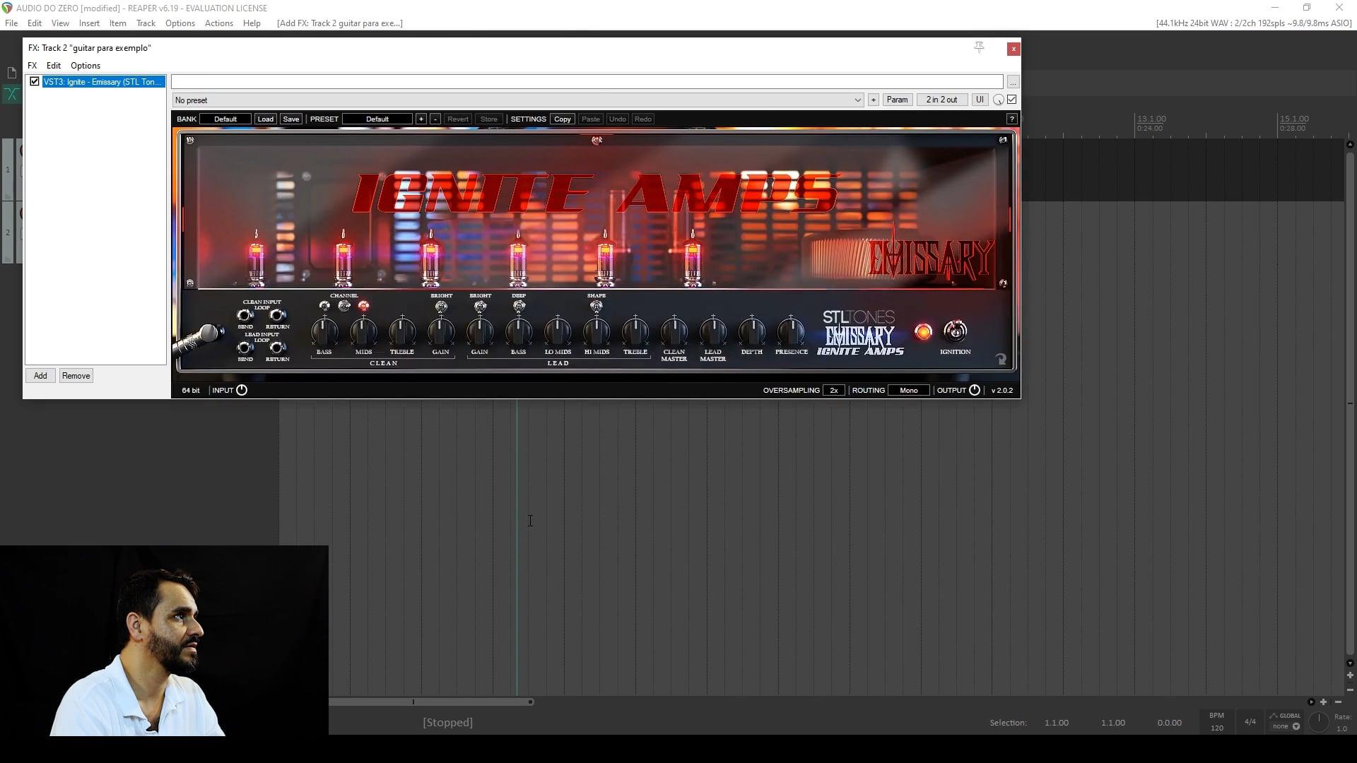 Instalando Pré-Amplificadores