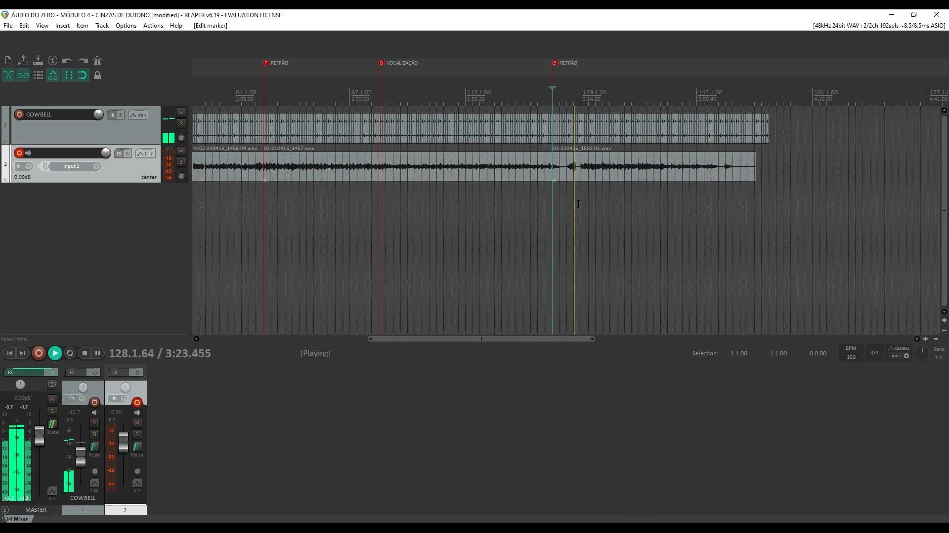 Estrutura e Gravação Guia - Parte 2